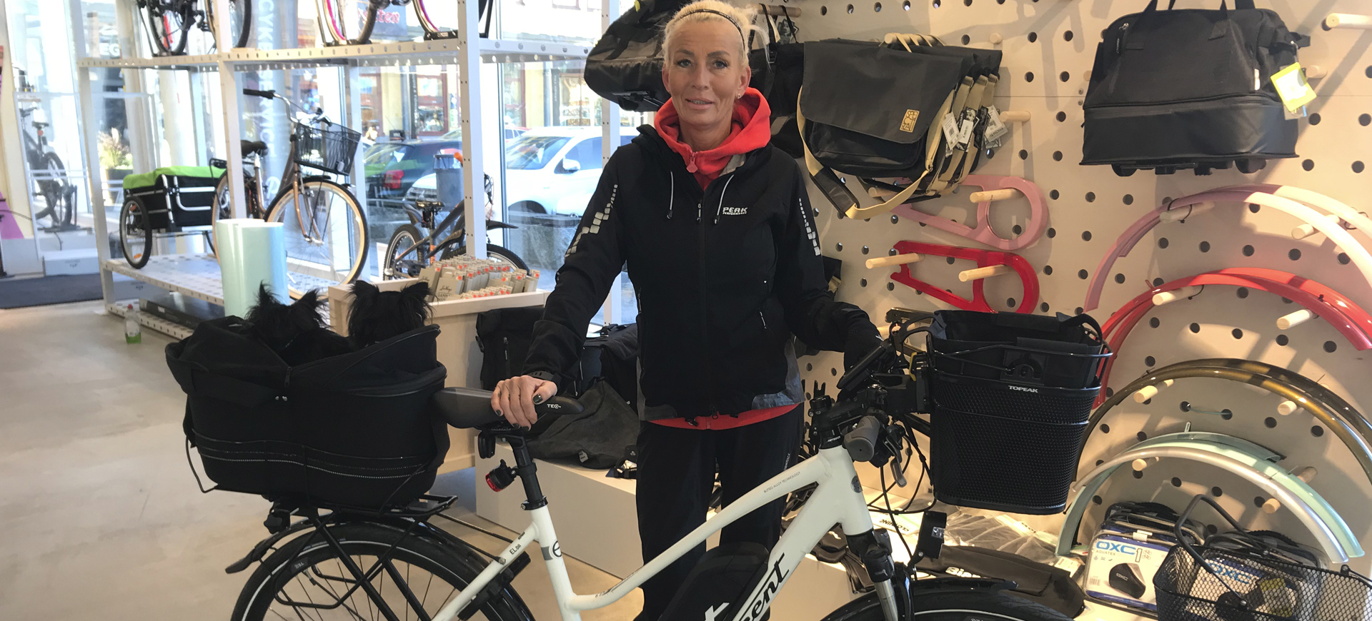 Rejal klassiker nar svensken valjer cykel