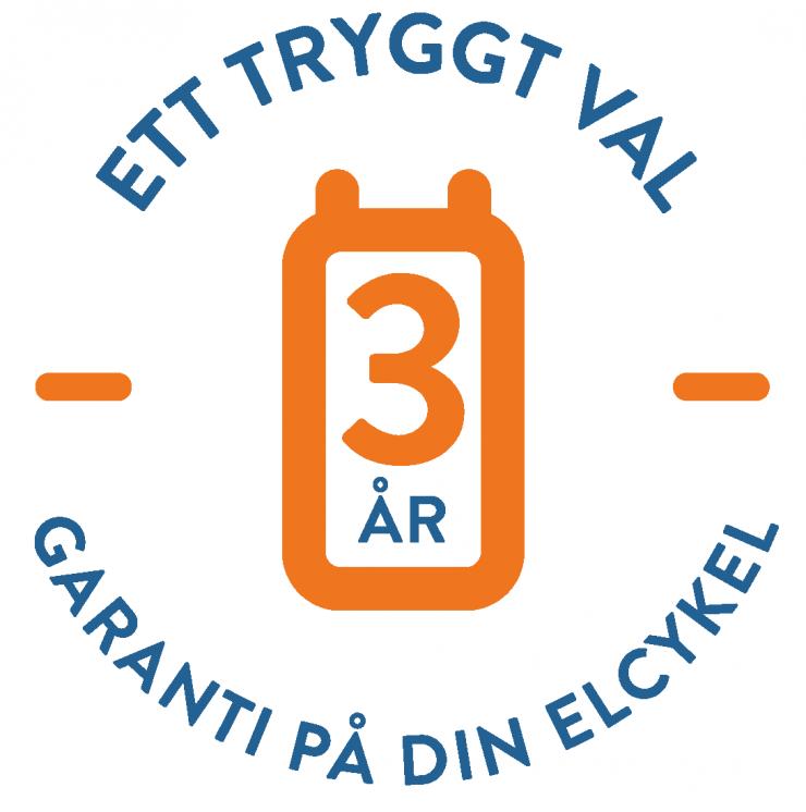 3 års elcykelgaranti - Crescent