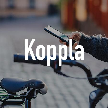 Elcykel - Koppla